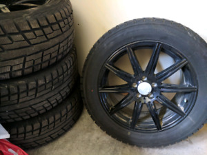 255 55R19 winter tires and rims, Mercedes GL350