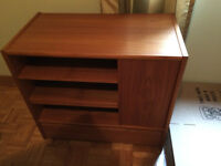 teak styled tv stand/accent