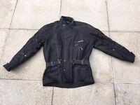 Mens Motorbike Armoured Jacket. Large. Good Condition