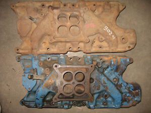 Ford/Mercury 289 cast iron 4 BBL Hipo intake manifold, sell/trad