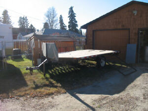 Flat Deck Trailer for Sale