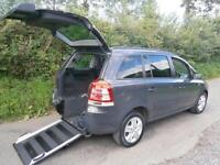 2012 Vauxhall Zafira 1.8i Exclusiv 5dr WHEELCHAIR ACCESSIBLE VEHICLES 5 door ...