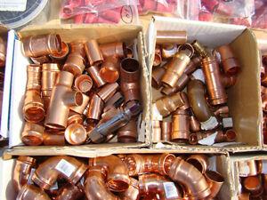 lot de fitting en cuivre 3/4 po Saint-Hyacinthe Québec image 3