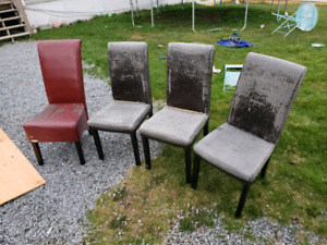 4 chairs free