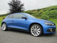 2010 Volkswagen Scirocco GT 2.0TDI ** 140 BHP **FULL LEATHER ** PAN ROOF **