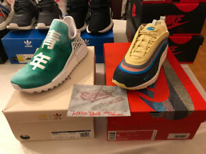 Green China Pack Pharrell Williams Human Race NMDs