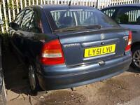 Vauxhall/Opel Astra 1.7DTi 16v 2001MY Club DIESEL (SOLD FOR SPARES OR REPAIRS)