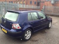 VW GOLF TDI LOVELY DRIVE 3 OWNERS NEEDS LITTLE TLC COLLECTION FROM COVENTRY