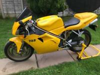 Ducati 748 biposto Sports only 6000 miles from new