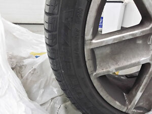 Potenza  225/45 R17 With rims (4 tires)