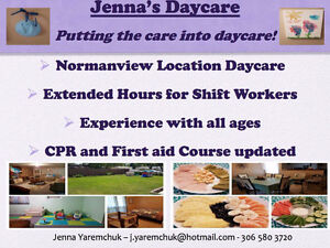 Extended hours daycare!