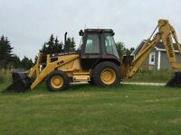 416 CAT Backhoe