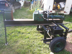 10 hp wood spliter. Works good.  $600