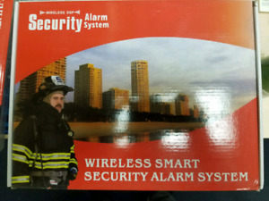 Wireless GSM smart security alarm system SOS, BURGLAR,