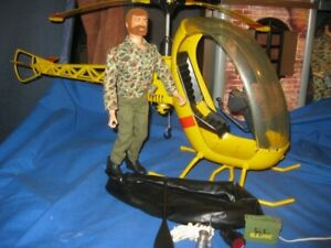 gi joe KIT NICE COPTER and very nice TALK GI JOE 1964