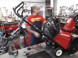 Experienced Service for all Honda Snowblowers Moose Jaw Regina Area image 3