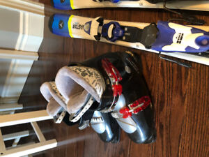 Great condion kids ski's and boots! $110.00