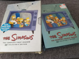 Simpsons - Complete Season 1 & 2 - New Sealed DVDs