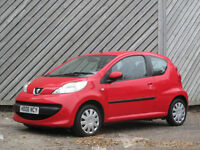 2006 PEUGEOT 107 1.0 2-Tronic AUTOMATIC- ONLY £20.ANNUAL ROAD TAX - 65+MPG !!