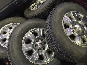 275 70 18 SET OF 4 NEW WHEELS & TIRES FORD
