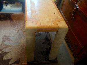 Sturdy Sofa Table Marble Design Some Marks Reason For Price