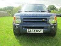 Land Rover Discovery 3 2.7 TD V6 HSE 5dr (blue) 2005