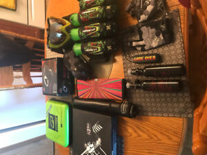 Paintball equipment, message for details on equipment