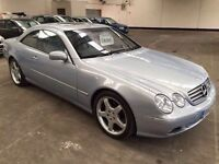 2002 Mercedes Cl 500 Fsh Top Of The Range Sports Coupe Every Extra Low Mileage 3 Months Warranty
