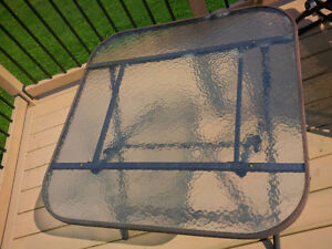 Outdoor Glass Dining/Coffee table