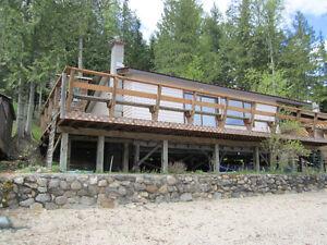 Mabel Lake, BC, cabin for sale