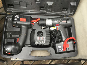 Craftsman 19.2 Volt Cordless Drill with 19.2 Volt Light