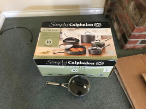 Simply Calphalon Nonstick Hard-Anodized 10-Piece Set - $230