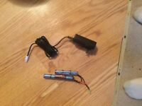 Airsoft battery and smart charger