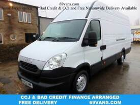 2013 63 IVECO DAILY LWB,126 BHP, FULL SERVICE HISTORY, 5.44M/18FT LOAD LENGTH DI