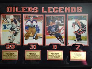 Oilers Legends Brand new still in original package