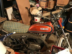 1972 Yamaha RT360 two stroke