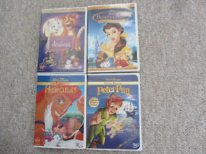 4 Disney Animated Classics To Choose From on DVD