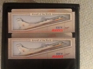 Sky Marks Aircraft of the World model planes - Never Opened