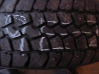 Two Tempra Winter Quest 175/65R14 Used Tires