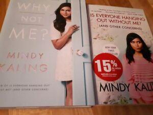 Mindy Kaling - 2 books - NEW