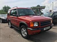Land Rover Discovery 2.5Td5 ( 7st ) Diesel Td5 GS (7 seat) Orange (8 months MOT)