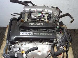 JDM Nissan SR20 VVL ENGINE WIRING HARNESS & ECU DIRECTLY IMPORTE