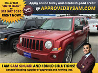 """Jeep Patriot - BAD CREDIT - TEXT """"AUTO LOAN"""" TO 519 567 3020"""