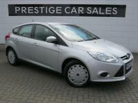 2014 Ford Focus 1.6 TDCi ECOnetic Edge (s/s) 5dr Diesel silver Manual