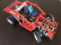 LEGO TECHNIC - Rare Vintage 'Test Car' set no: 8865. 99%+ complete
