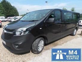 Vauxhall Vivaro 9 Seat Minibus 1.6 Manual Diesel