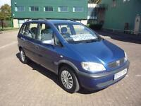 VAUXHALL ZAFIRA 1.8 COMFORT * Trade PX To Clear * 2003 Petrol Manual in Blue