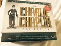 Charlie Chaplin classic 10 DVD collection brand new