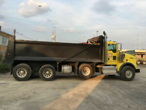 kenworth dump truck T800 C15 cat
