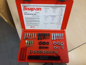 Snap on thread restore kit